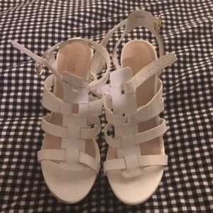 Strappy High Wedges